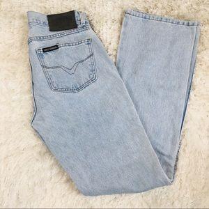 Harley Davidson Light Blue Jeans  8 Long